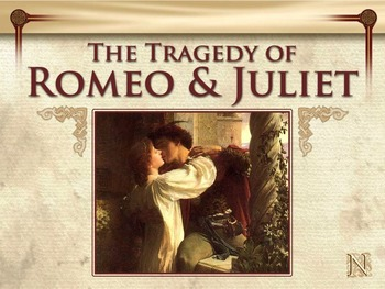 Romeo and Juliet Novel Study Unit ~ Includes Reproducible Graphic Organizers