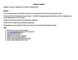 Romeo and Julilet Scene Recreation: Avatar GoAnimate Summary Assignment