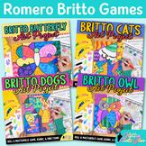 Romero Britto Art Lesson Bundle: Pop Art Sub Plans, Rubric, & Reflection Sheet