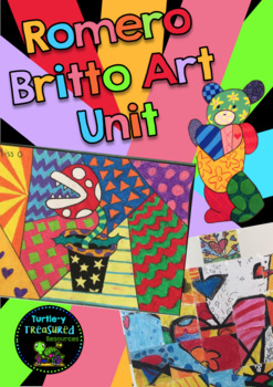 Romero Britto Art Unit