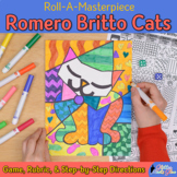 Romero Britto Cats Art History Game {Pop Art Project and A