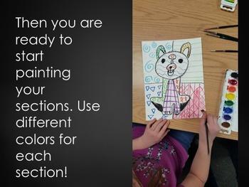 Romero Britto Dogs - Art History Lesson, 3 day Art Lesson