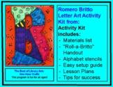 Romero Britto Letter Art Activity Kit - Library Arts Digit