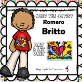 Romero Britto - Famous Artists Art Unit - Biography Unit -