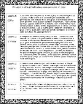 Romero:  Comprehensible Film Scenes and Activities