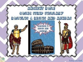 Rome's Beginnings - Romulus and Remus - Aeneas