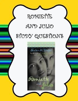 Romiette and Julio Literature Study
