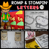 Romp and Stomping Letters: Hands-On Alphabet Activities, Sort Letter Attributes
