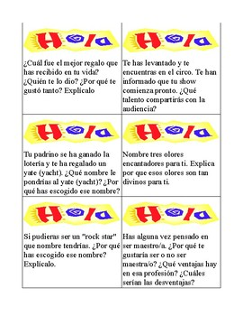 Rompe Hielo (Ice breakers) for Back to School