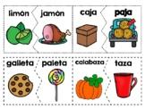 Rompecabezas De Las Rimas - Spanish Rhyming  Puzzles