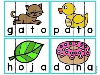 Rompecabezas de Fonemas (Spanish Phoneme Puzzles)