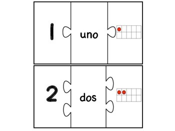 Rompecabezas de números