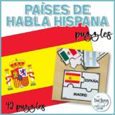 Rompecabezas de países de habla hispana - Spanish Speaking Countries Puzzles