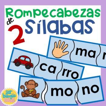 Silabas - Rompecabezas de 2 silabas