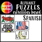 ABC Puzzles Bilingual Spanish Kindergarten PreK Estrellitas Based