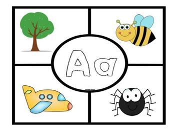 Rompecabezas del abecedario- Spanish Alphabet Puzzle