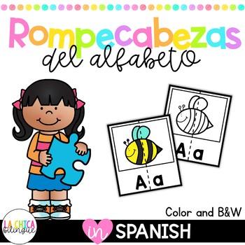 Rompecabezas del alfabeto / Spanish Alphabet Puzzles