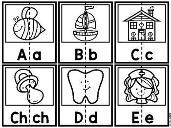 Rompecabezas del Alfabeto (Spanish Alphabet Puzzles)