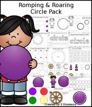 Romping & Roaring Circle Pack