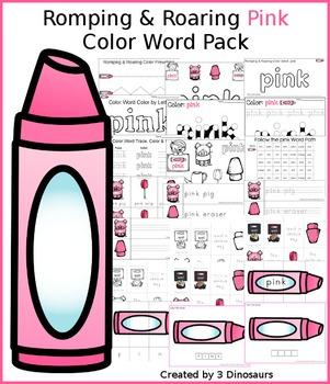 Romping & Roaring Color Pink Pack