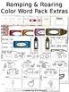 Romping & Roaring Color Word Packs (Bundle)