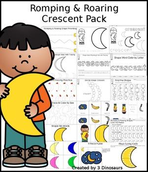 Romping & Roaring Crescent Pack