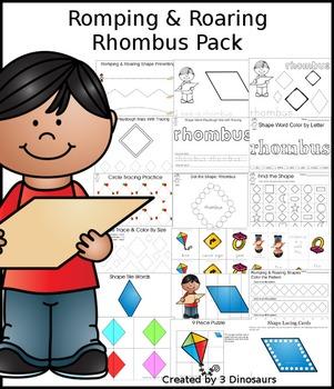 Romping & Roaring Rhombus Pack
