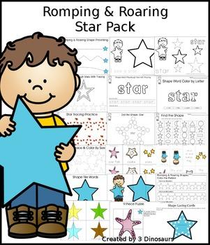 Romping & Roaring Star Pack