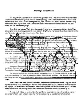 Romulus and Remus Myth