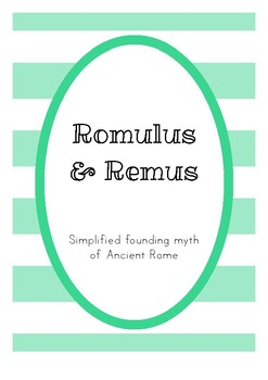 Romulus and Remus - the Founding of Rome
