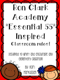 """Ron Clark Academy Essential 55 inspired *Be Significant"""" rules 7"""