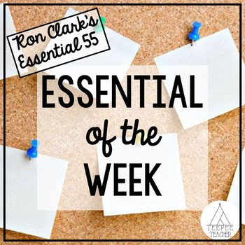 Ron Clark Essential 55- Essential of the Week