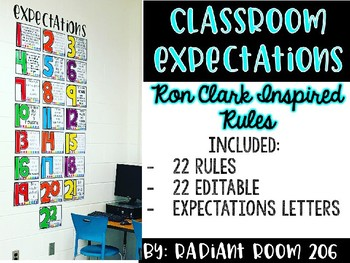 Ron Clark Inspired Classroom Rules
