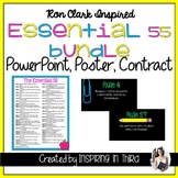 Ron Clark Inspired Essential 55 PowerPoint Presentation an