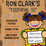 Ron Clark's Essential 55 Classroom Companion: Posters, Parent Letter, Mini Book