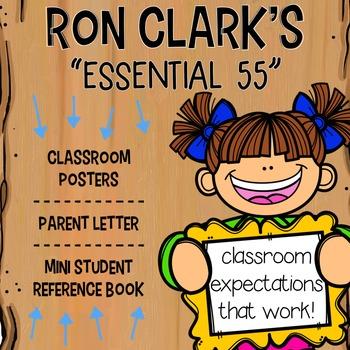 Ron Clark's Essential 55 Classroom Companion: Posters, Par