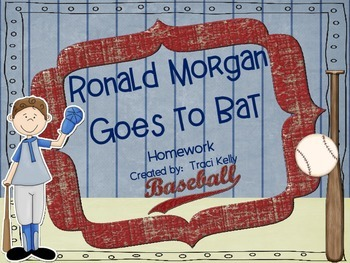 Ronald Morgan Goes to Bat Homework - Scott Foresman 2nd Grade