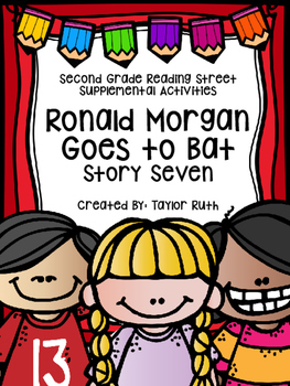 Ronald Morgan Goes to Bat Supplemental Activities (Second Grade Reading Street)