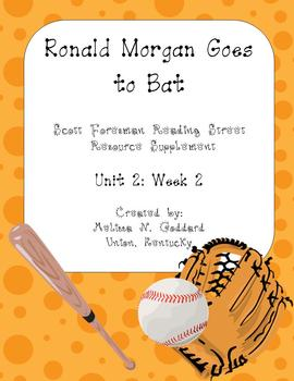 Ronald Morgan Goes to Bat Unit Supplemental Packet