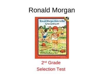 Ronald Morgan Selection Test