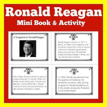 Ronald Reagan | Biography Activity