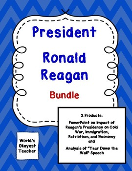 """Ronald Reagan Bundle: Presidency and """"Tear Down This Wall"""" Speech"""