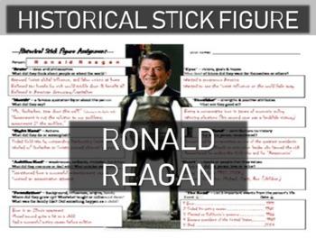 Ronald Reagan Historical Stick Figure (Mini-biography)
