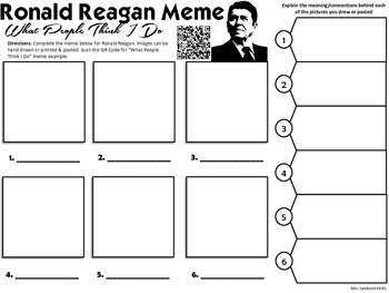 Ronald Reagan Meme Activity