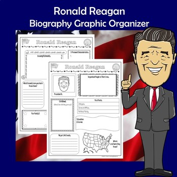 Ronald Reagan President Biography Research Graphic Organizer