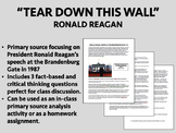 Ronald Reagan - Speech at Brandenburg Gate - Cold War - USH/APUSH