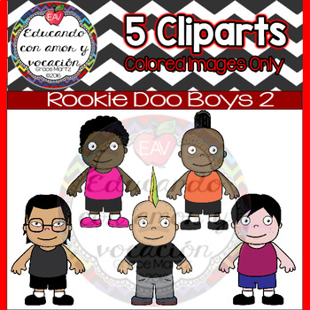 Rookie Doo Kids 2 (Boy Cliparts)