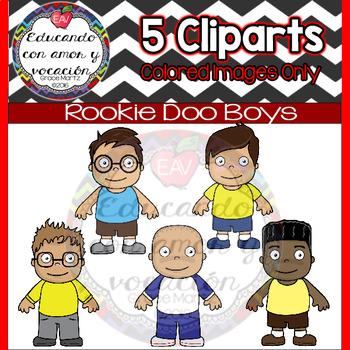 Rookie Doo Kids (Boy Cliparts)