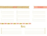 Potter Teaches | To Do List, To Make, & Notes Planner Version 2
