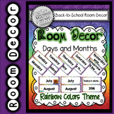 Room Decor  - Days, Months, Year